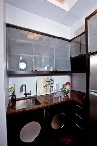 Park House Hotel in Brooklyn Kitchenette